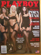 Original Playboy Magazine March 2002 Porn Star Pictorial Allen Iverson, Rehab