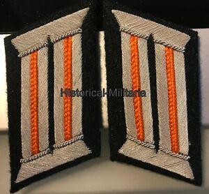Unterführerschule Lauenburg Repro Paar Schulterklappen für Mannsch R
