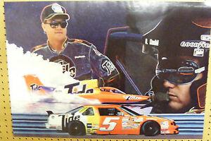 TIDE #5 RICKY RUDD NASCAR GEORGE WOODS JR SEAFAIR HYDROPLANE RACING POSTER