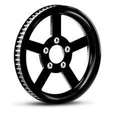 """DNA """"VICTORY"""" CONTRAST CUT REAR PULLEY 70T 1-1/8"""" HARLEY TOURING SOFTAIL DYNA"""