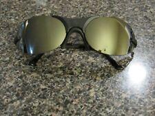 Gargoyles Helios Sunglasses Black Frame Silver lense Italy