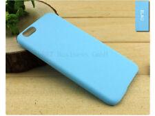 "Mattiert Schutzhülle für Apple iPhone 6 / 6S 4,7"" Case Matt Cover Tasche Blau"