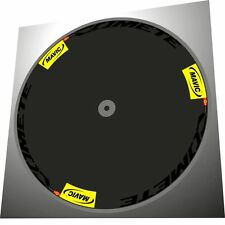 "MAVIC COMETE  DISC 700C REPLACEMENT DECAL SET with BLACK ""COMETE"" TEXT  1 DISC"