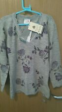 Next merino Wool beaded jumper with stretch, uk 8, Bnwt, Rrp £39.99.