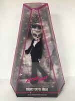 New! Monster High Doll Zomby Gaga Lady Gaga Born This Way Collector Item 2016