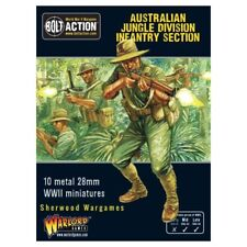 28mm Warlord Australian Infantry Section, Pacific, Bolt Action BNIB WWII