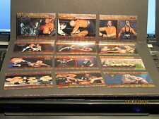1999 Topps WCW/nWo Nitro Chrome 12 Card Set Unpeeled