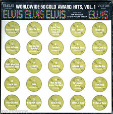 BOX 4xLP - Elvis Presley - Worldwide 50 Gold Award Hits,Vol 1 (MONO USA EDIT.)