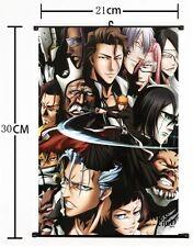 "Hot Japan Anime BLEACH Cosplay Home Decor Wall Scroll 8""x12"" 01"