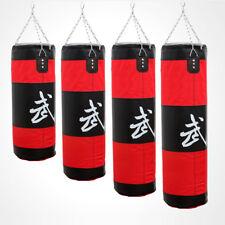 Punching Bag Kick Boxing Sand Bag Muay Thai Fitness Training 80cm