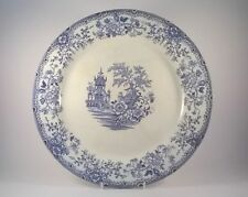 Unboxed Blue & White Transfer Ware Date-Lined Ceramics