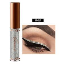 Liquid Eyeliner Glitter Eye Liner Metallic Color Waterproof Long Lasting Makeup