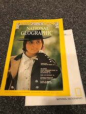 National Geographic magazine June 1975 With Map of Alaska, Andalusia, Suez