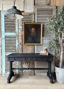Lovely Victorian Console / Hall Table / Writing Desk