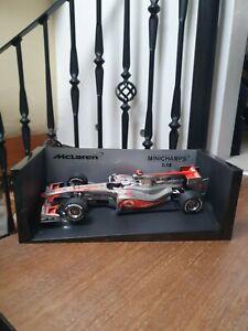 Minichamps 1:18 McLaren Mercedes MP4-25 Jenson Button 2010