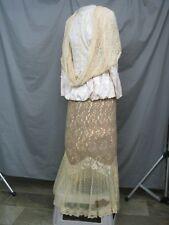 Victorian Dress Womens Edwardian Costume Civil War Style Reenactment Unique S-M