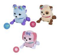 LITTLE LIVE PETS SMALL NAUGHTY PUPPY BLUE / BROWN / PINK - CHOOSE YOUR FAVOURITE