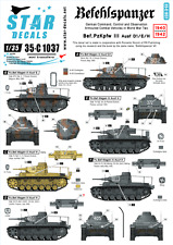 Star Decals 1/35 Befehlspanzer - German Command,Control and Observation Tanks #2