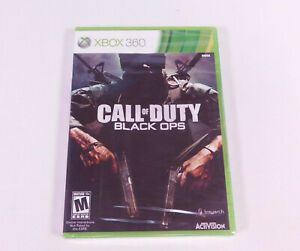 Call of Duty: Black Ops Early Print Xbox 360 FACTORY SEALED! - RARE WHITE LABEL