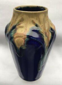 Jugendstil / ART NOUVEAU - Keramik-Vase - Denbac ? (Denert & Balichon )
