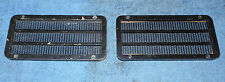 1966 1967 Mustang GT GT-A Shelby ORIG 8 TRACK AM/FM STEREO DOOR SPEAKER GRILLES