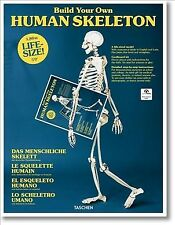 Build Your Own Human Skeleton - Life-size!, Hardcover by Taschen (COR), Brand...