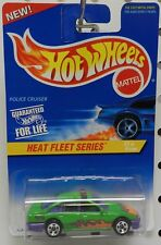 POLICE CRUISE GREEN CHEVY PONTIAC 1 FORD 537 HEAT FLEET SERIES HW HOT WHEELS