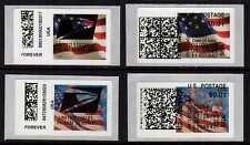 APC/CVP/ATM - Overprint ERRORS on New & Old Flag stamps from new machine!  (1)