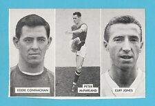 FOOTBALL - D.C. THOMSON -  CUP - TIE  STARS  OF  ALL  NATIONS  CARD  (D) -  1962