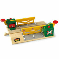 BRIO 33750 Magnetic Level Crossing Track for Wooden Train Set