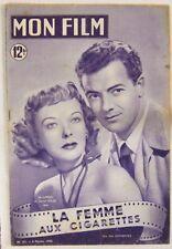 Revue Mon Film n° 181 La femme aux cigarettes Ida Lupino Cornel Wilde 1950