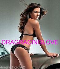 Danica Patrick Race Car Driver SUPER HOT SEXY Black Bikini PHOTO! #(6)