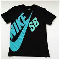 Nike SB T-Shirt | Medium/Large | Black/Turquoise/Aquamarine | Rare