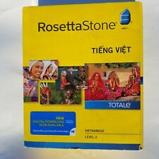 New! Rosetta Stone VIETNAMESE Version 4 Level 2 (For Windows & Mac ) 33004