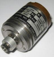 400 Hz AC Transicoil 15M Motor with Gear- 115 V - 10000 RPM - 5 mm Shaft Dia.