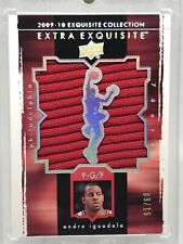 09-10 Exquisite Collection Extra Exquisite Patch 9/15 - Andre Iguodala