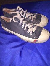 Vintage USA Pro-Keds Canvas Low Top Men's Blue Sneaker Shoes Kicks 6.5