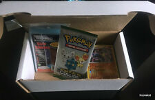 100x - 300x MIXED Pokemon Cards GIFT BOX SET with BOOSTER & 100 Card Sleeves TCG