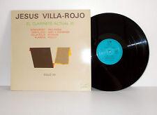 JESÚS VILLA-ROJO - El clarinete actual (I) - Stravinsky LP LIM Spain 1984 NM/EX