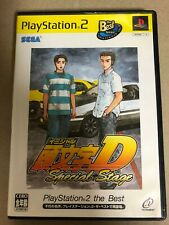 """Used PS2 """"Initial D Special Stage PlayStation 2 the Best"""" Japan Ver."""