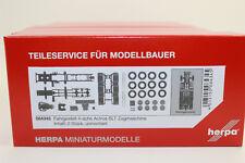 Herpa 084345 Châssis MB Actros SLT 4 essieux Lourds CM 1:87 H0