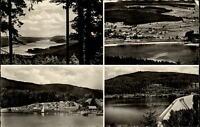 Wolfach Schwarzwald Mehrbildkarte 1955 gelaufen Totale Camping Platz Staumauer