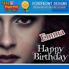 Personalised Twilight Breaking Dawn Part 2 Bella NEW! Birthday Greeting Card A5