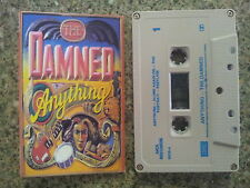 THE DAMNED - ANYTHING CASSETTE TAPE