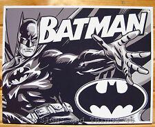 Batman Duotone TIN SIGN dc comics superhero poster retro metal wall decor 1731