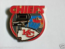 Kansas City Chiefs Tailgating Pin  Football  Lapel Pin Hat Tack