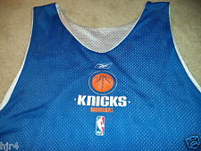 New York Knicks #51 NBA Reebok Game Worn Practice Basketball Jersey 3XL