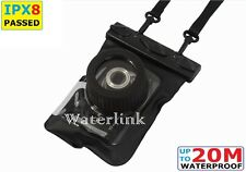 Waterlink IPX8 (66 ft) Camera waterproof case underwater for Canon PowerShot