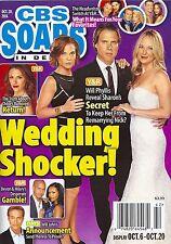 Sharon Case, Joshua Morrow & Gina Tognoni - October 20, 2014 CBS Soaps In Depth