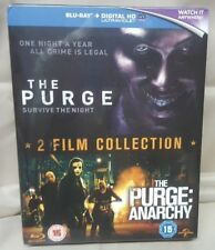 THE PURGE / THE PURGE : ANARCHY BLU-RAY DVD BOX SET 2014 SEALED